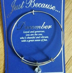 Jewelry - Brand new December birthstone bangle